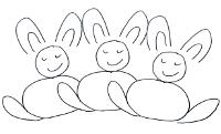 Alle kleinen Osterhasen